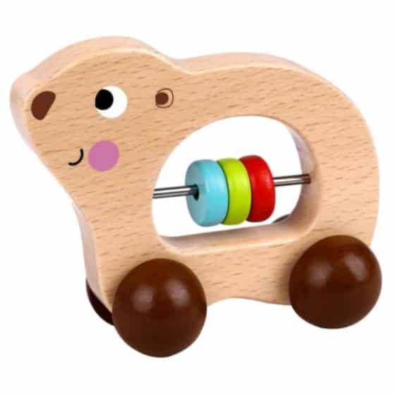 tooky toy speelfiguur beer junior 11 cm hout naturel bruin 429157 1594037971