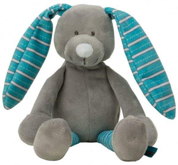 vaco knuffel konijn 15 cm polyester blauw 472513 20201007120446
