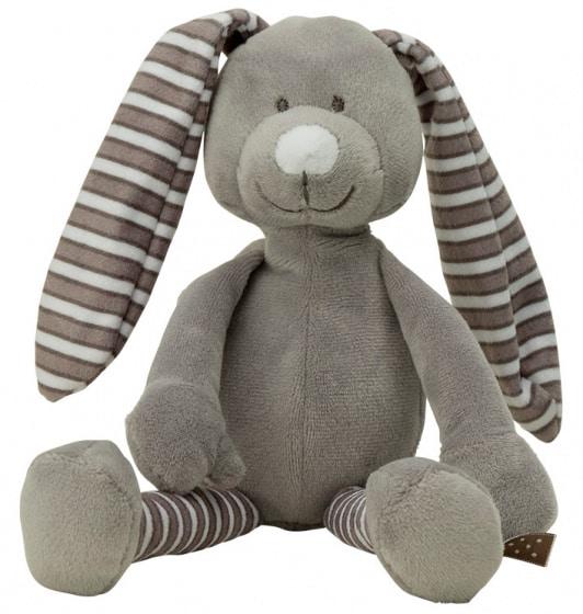 vaco knuffel konijn 15 cm polyester grijs 472509 1602064849