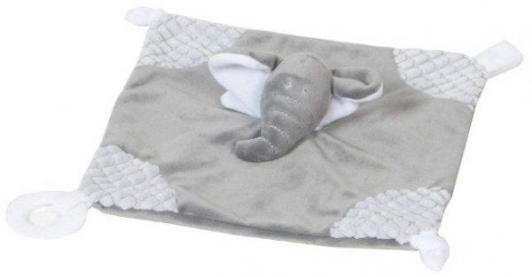 vaco knuffeldoekje billy 26 cm polyester grijs 472486 1602064048