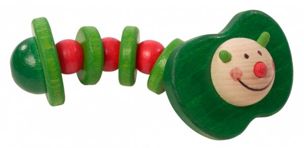 walter appelworm hout 11 cm groen rood 357995 1580290568