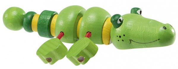 walter houten krokodil 13 cm groen 357542 1580201848