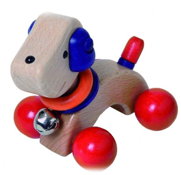 walter houten puppy blauw rood 12 cm 358006 1580291682