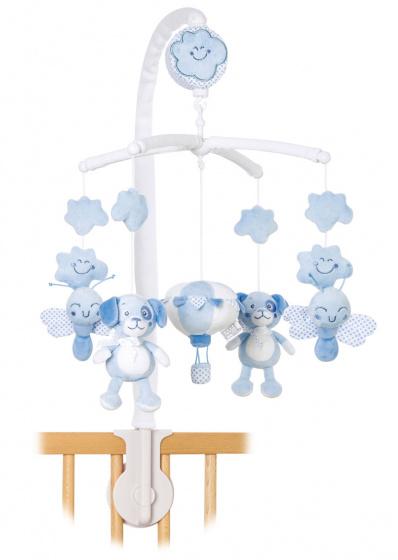 saro muziekmobiel sweet woolly hond vlinder 39 cm blauw 479357 1603264214