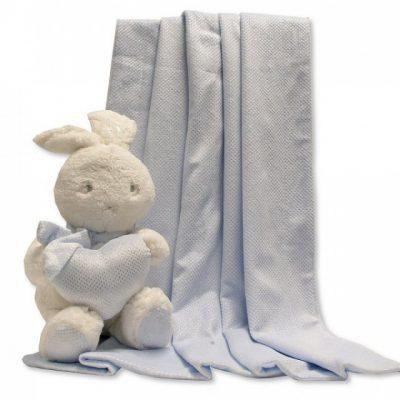 snuggle baby babydeken met knuffel konijn 26 cm lichtblauw set 2 delig 348649 1578037310