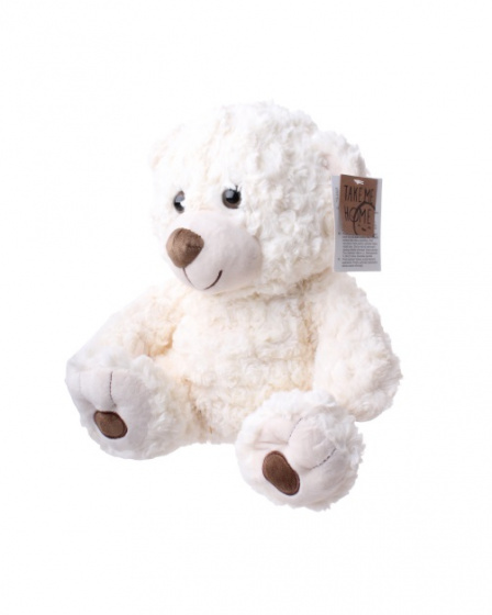 take me home knuffel beer junior 35 cm pluche wit 2 396988 1589203206
