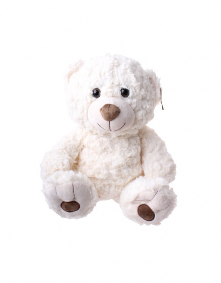 take me home knuffel beer junior 35 cm pluche wit 396988 1589203206