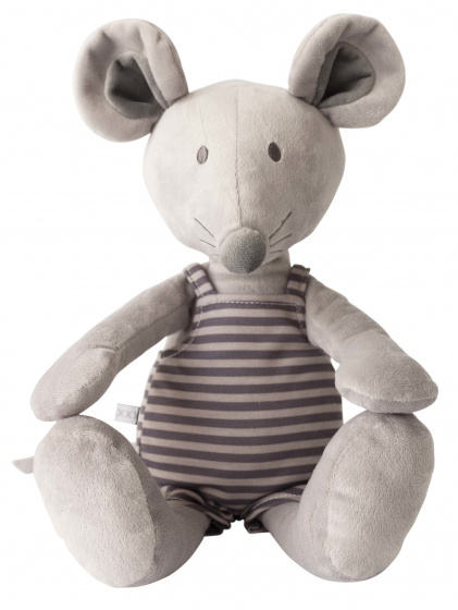 vaco knuffel muis 30 cm polyester grijs 472598 1602070014