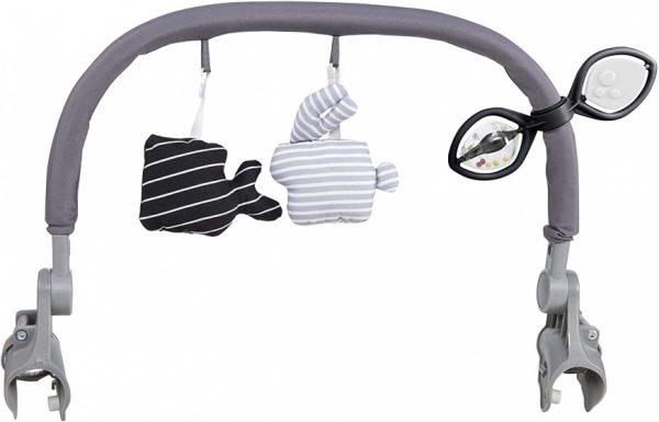 chicco speelgoedboog voor kinderstoelen junior grijs 499300 1605609254
