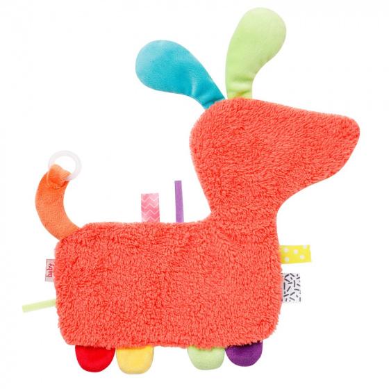 fehn knuffeldoekje color friends hond junior 27 cm pluche 2 443977 1596607347
