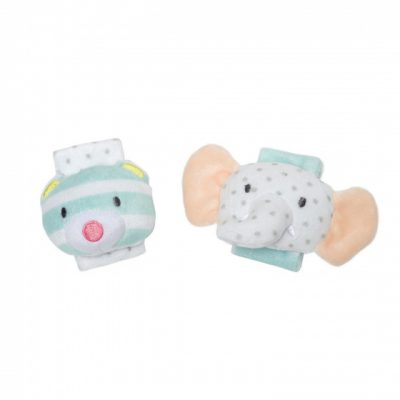 manhattan toy rammelaar elephant bear rattle set lichtblauw 2 422800 1592901375