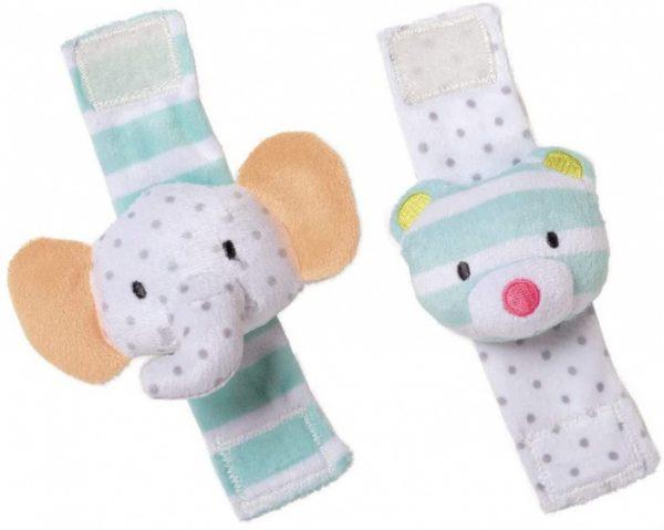 manhattan toy rammelaar elephant bear rattle set lichtblauw 422800 1592901375