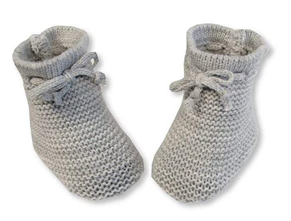 nursery time babysloffen met veterstrik 0 3 maanden grijs 498587 1605531260