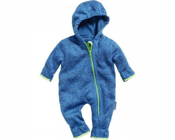 playshoes babypyjama onesie gebreide fleece blauw 335640 1573982467 1