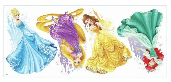 roommates muurstickers disney princesses castles vinyl 4 stuks 349534 1578321897