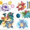 roommates muurstickers iconic pokemon vinyl 24 stuks 326175 1571810323