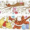roommates muurstickers winnie the pooh honey vinyl 39 stuks 326170 1571809156