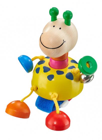 selecta buggyspeelgoed giraffe junior 11 cm hout 433010 1594651807
