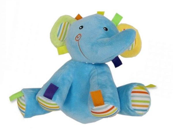 snuggle baby rammelaar olifant 23 cm blauw 348557 1577978049