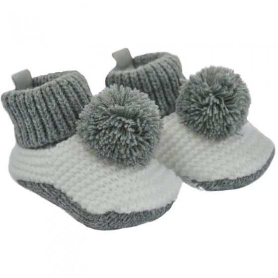 soft touch babyslofjes gehaakt grijs 3 6 maanden 334404 1573650283