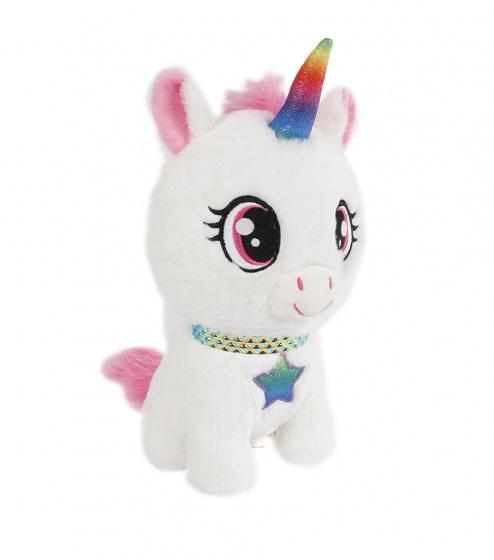 unicorn knuffel eenhoorn junior 24 cm pluche 394962 1588758212
