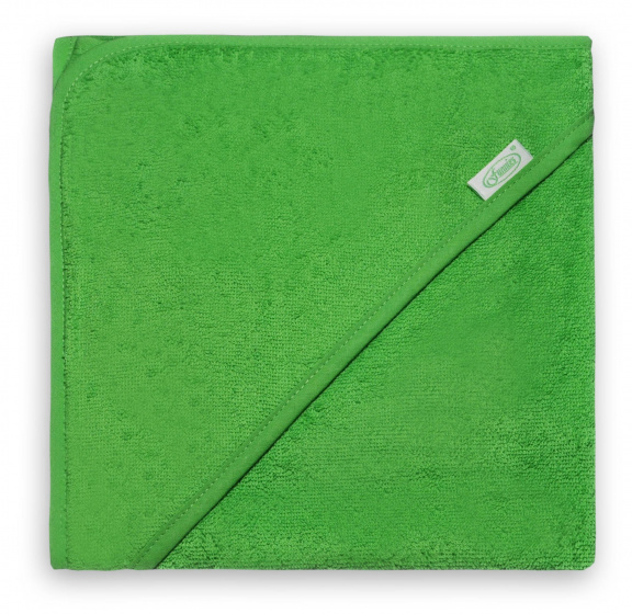 funnies badcape junior 80 cm katoen groen 448829 1597667213