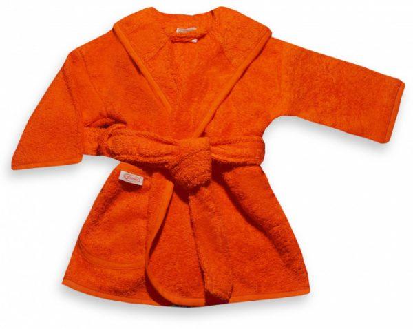 funnies badjas junior katoen oranje 449981 1597845630