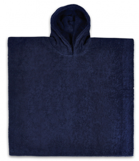 funnies badponcho junior 55 cm katoen donkerblauw 448547 1597649929