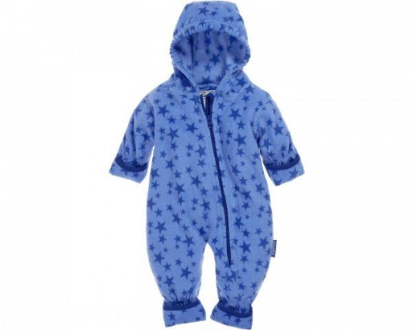 playshoes babypyjama onesie fleece junior sterren blauw 335601 1573979182