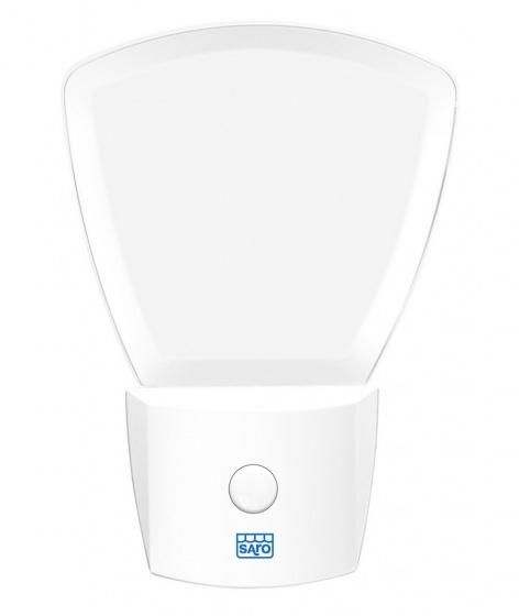 saro nachtlampje met twee standen 11 cm wit 346531 1577178619