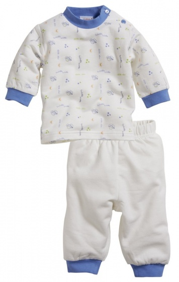 schnizler babypyjama interlock muis junior beige blauw 365774 1582871905 2