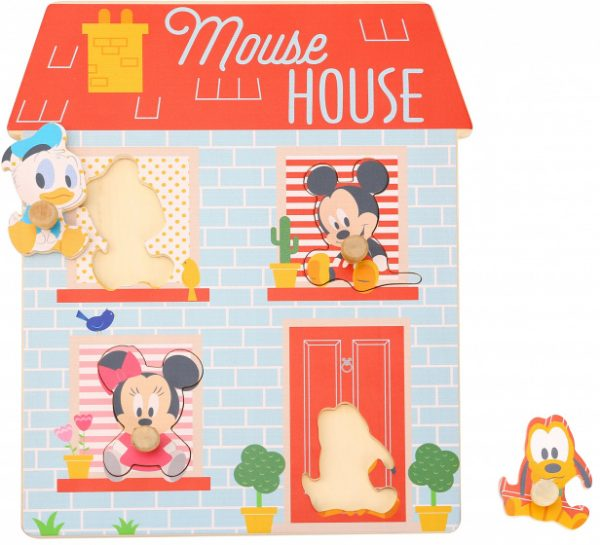disney vormenpuzzel mouse house junior hout 4 stukjes 427348 20201224110551