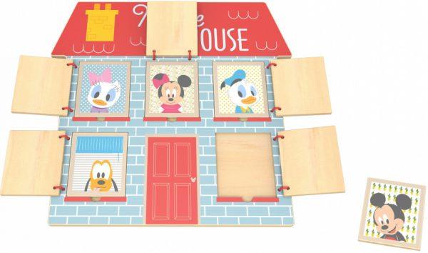 disney vormenpuzzel mouse house junior hout 5 stukjes 427602 20201224131313