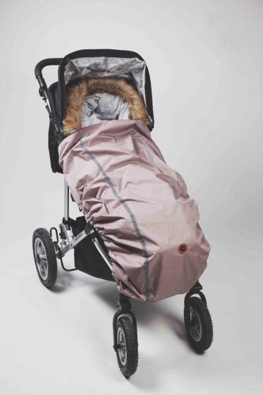 easygrow afdekhoes kinderwagen reflecterend 107 cm roze 2 369926 1584094581