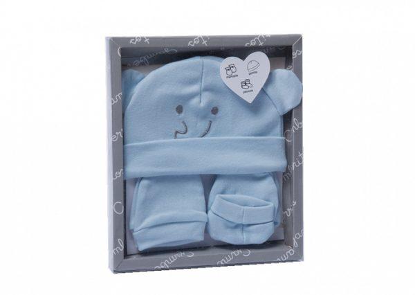 gamberritos babykledingset smile jongens blauw 5 delig one size 367445 1583397860