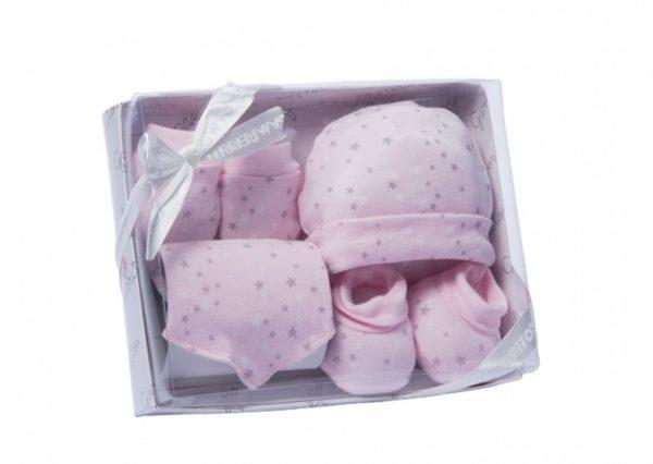 gamberritos babykledingset sterren meisjes roze one size 359676 1580813650