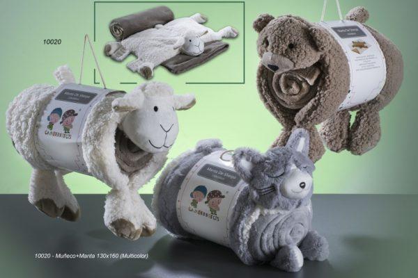 gamberritos knuffeldeken fleece 130 x 160 cm grijs 2 367112 1583318791 1