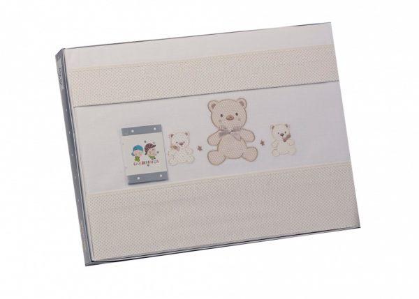 gamberritos laken set beige beren 3 delig groot 384097 1587032037