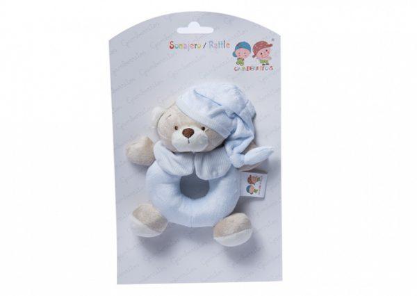 gamberritos rammelaar beer 15 cm blauw 354942 1579610522