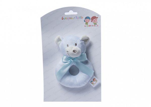 gamberritos ringrammelaar teddybeer 12 cm blauw 355099 1579620135