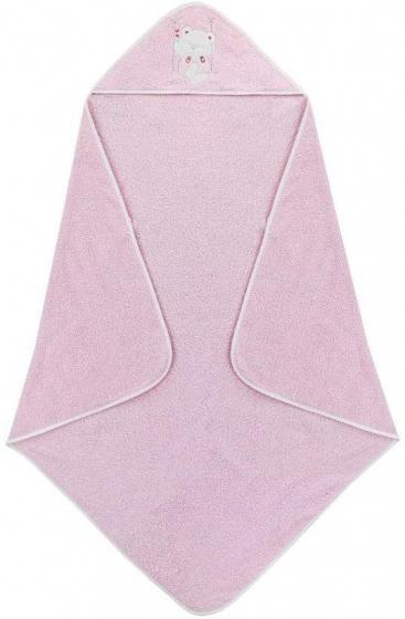 interbaby badcape en nachtlamp 100 cm katoen roze 2 delig 2 533855 1611665103
