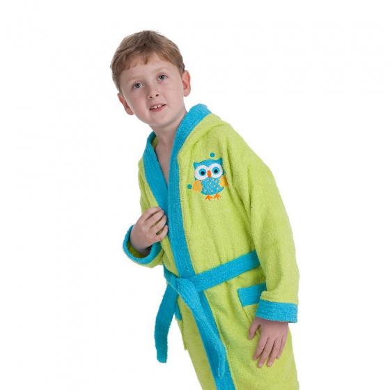 interbaby badjas junior katoen groen blauw 2 821605 20210327134242 3