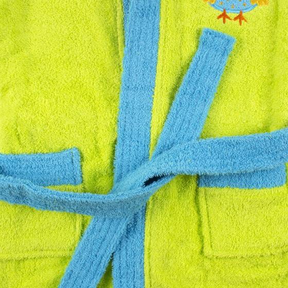 interbaby badjas junior katoen groen blauw 4 821605 20210327134242 3