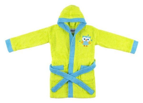 interbaby badjas junior katoen groen blauw 821605 20210327134242