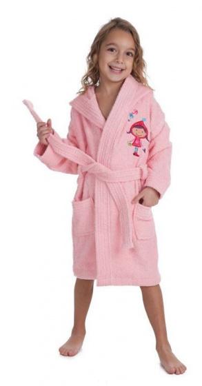 interbaby badjas junior katoen roze 2 821634 20210327134117 3