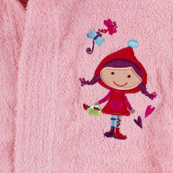 interbaby badjas junior katoen roze 3 821634 20210327134117 2