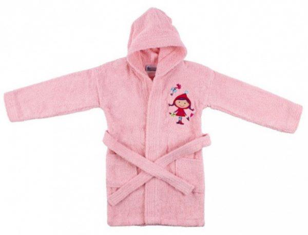 interbaby badjas junior katoen roze 821634 20210327134117 2