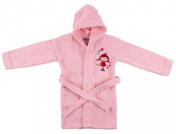 interbaby badjas junior katoen roze 821634 20210327134117
