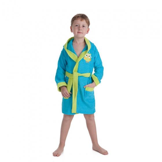interbaby badjas junior katoen turquoise groen 2 821669 1616849205