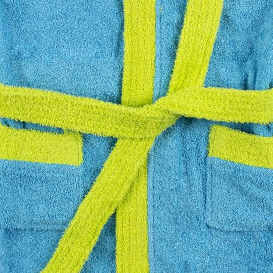 interbaby badjas junior katoen turquoise groen 4 821669 1616849205